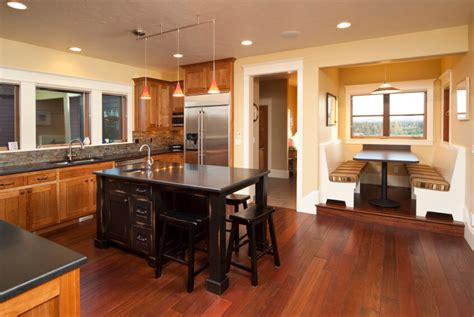 Best Paint Colors For Kitchens With Oak Cabinets 34 kitchens with dark wood floors pictures