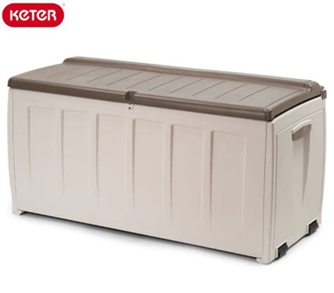 plastic garden storage bench seat new plastic lockable outdoor pack and go storage deck box