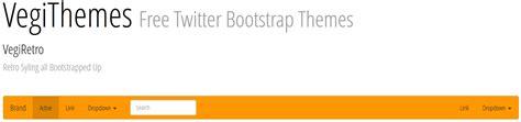 bootstrap themes retro vegithemes twitter bootstrap themes web development
