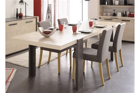 Table Salle à Manger Extensible by Table 224 Manger Extensible Style Industriel