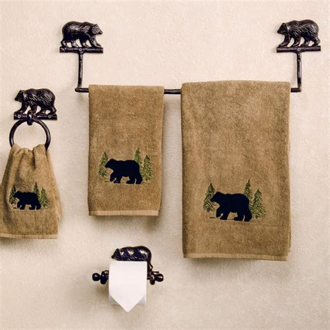 bear bathroom moose and bear bathroom decor office and bedroom bear