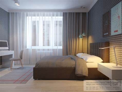 design of bedrooms apartment for a young family
