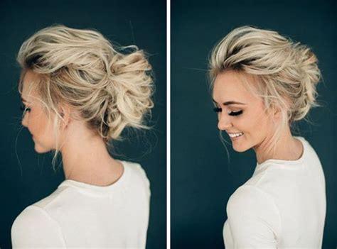 how to casual updo for women over 50 30 super penteados para m 227 e de noiva