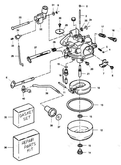 Sears 9 9 H P 1989 Carburetor 9 9 Hp Parts Catalog