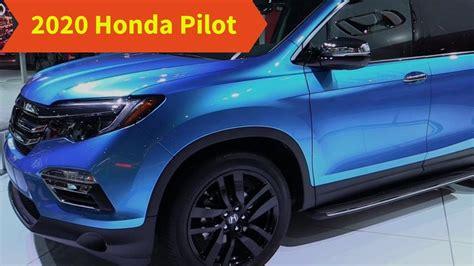 Honda Pilot 2020 Redesign by 2020 Honda Pilot Redesign Interior Price