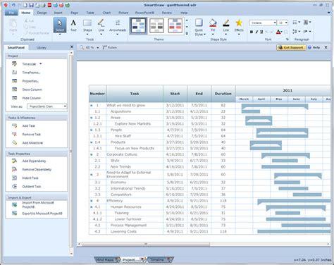 smartdraw templates free program smartdraw timeline templates