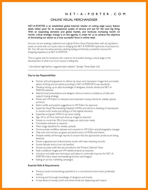 Apparel Merchandiser Cover Letter by 8 Visual Merchandiser Resumes Apply Form