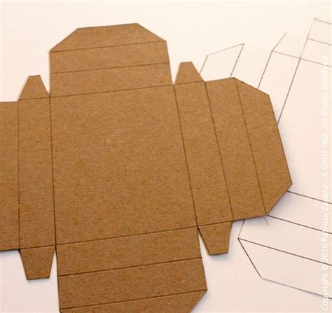 cardboard template best 25 box patterns ideas on paper box