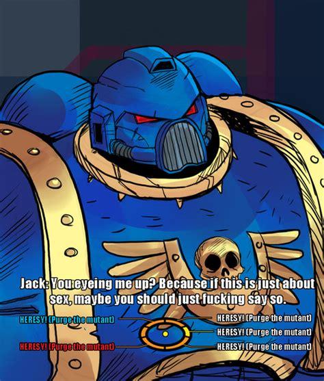 Heresy Meme - shepardius die mutant scum heresy know your meme