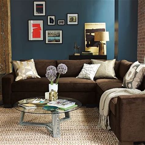 wall color with brown couch 25 best ideas about dark brown couch on pinterest brown