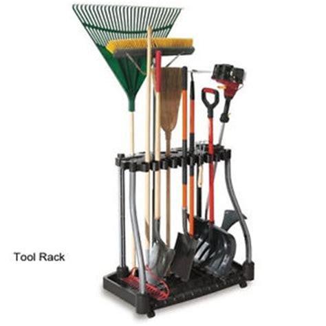 Garage Storage Holder Garden Tool Rack With Wheels Storage Holder Garage