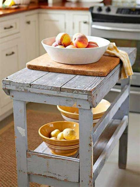 easy kitchen island 32 simple rustic kitchen islands amazing diy