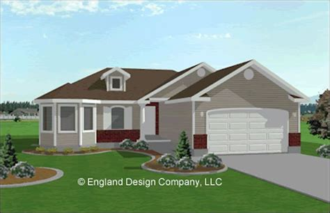 ranch style home  garage addition house plans