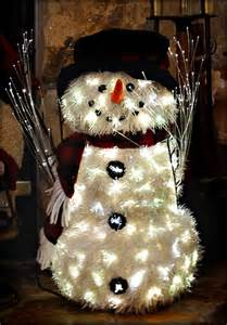 fiber optic snowman flickr photo sharing