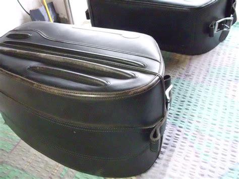 Motorrad Gepäck fahrzeuge leder vahedleder vahed