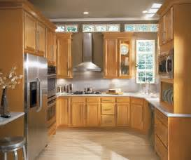Birch Cabinets Kitchen Light Kitchen Cabinets In Birch Wood Aristokraft