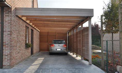 Carports In Carport In Iroko Houten Carports Woodproject