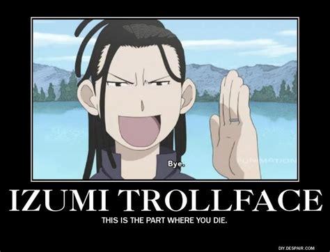 Fullmetal Alchemist Memes - anime fullmetal alchemist brotherhood izumi curtis