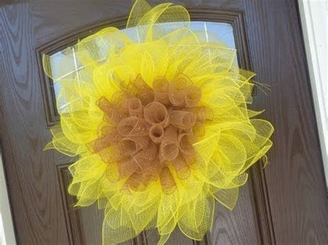 yellow paper flower wreath tutorial pinterest the world s catalog of ideas
