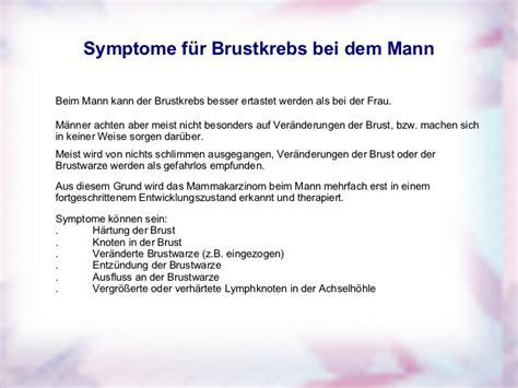 Brust Mann Bilder by Brustkrebs Bei M 228 Nner