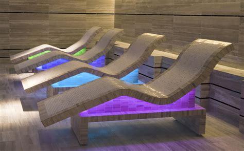 Ergonomic Chaise Radiant Heat Outdoor Heated Loungers Bradford Pools
