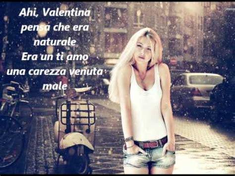 vai valentina testo quot vai valentina quot con testo di ornella vanoni