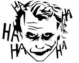 joker stencil by ghostcake on deviantart