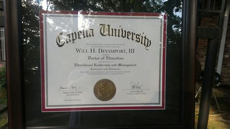 Capella Mba Degree Programs by Capella Doctoral Degrees Accredited