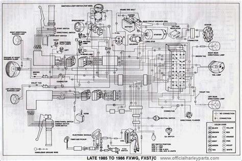 1995 softail wiring diagram vehicledata co