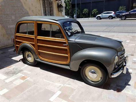 fiat 500 topolino for sale 1953 fiat 500 topolino for sale 1998600 hemmings motor news