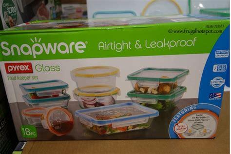 Cherish Instant Food Keeper Set costco sale snapware total solution pyrex glass food storage 18 set frugal hotspot