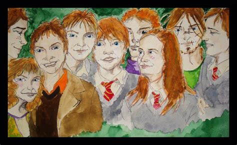 the weasley family by kendrakickz0220 on deviantart weasley family by ladycarice on deviantart