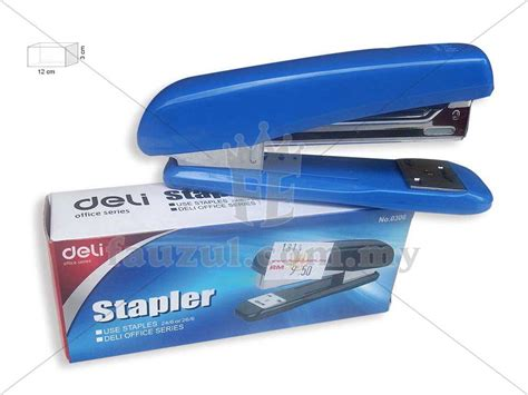 Deli Mini Stapler 24 6 deli stapler no 24 6 and 26 6 e0306 fauzul enterprise