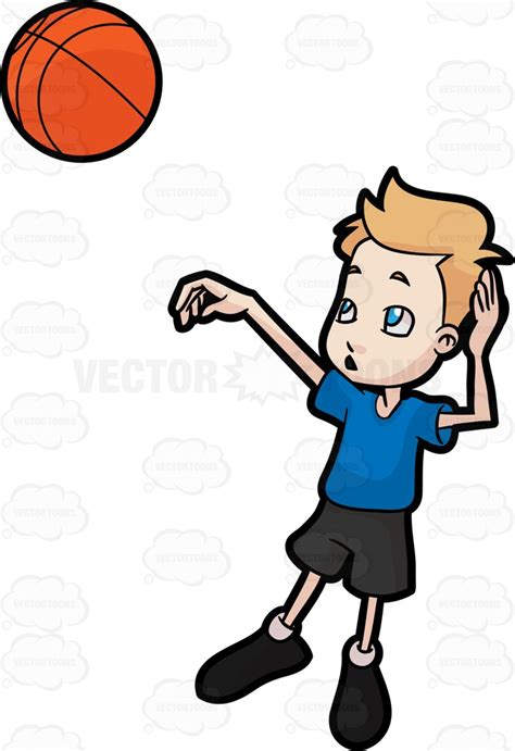 basketball shoe coloring page a boy throwing a basketball clipart vector