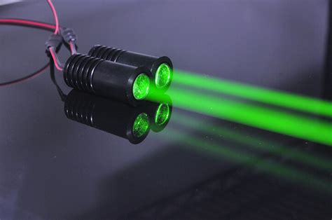 low power green laser diode 532nm 50mw thick beam green laser module projector for bar stage exhibition stand lighting