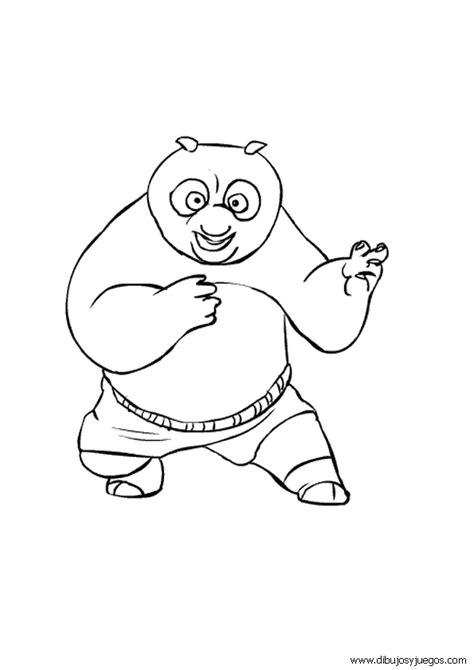 imagenes de kung fu panda bebe para colorear dibujo kung fu panda 017 dibujos y juegos para pintar y