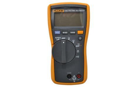 Multimeter Fluke 114 electricians s multimeter fluke 114 electrical multimeter