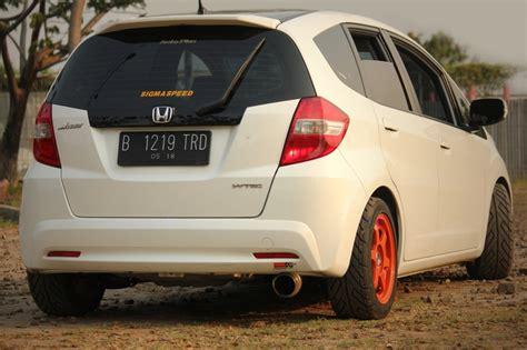 Kap Mesin Honda Jazz Ge8 Custom white honda fit ge8 jdm tupanx