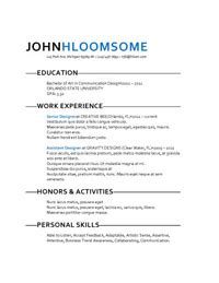 Creative Resume Templates For College Students 25 Great Resume Templates For All Resume