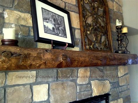 Rustic Mantels For Fireplaces by Rustic Fireplace Mantels Log Fireplace Mantel Rustic