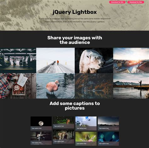 jquery mobile gallery html image gallery