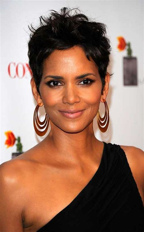 halle berry bob cut hairstyles 20 best halle berry pixie cuts short hairstyles 2017