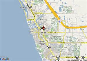 venice florida map map of house of venice venice