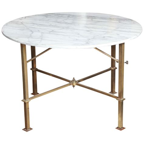 marble and brass table at 1stdibs