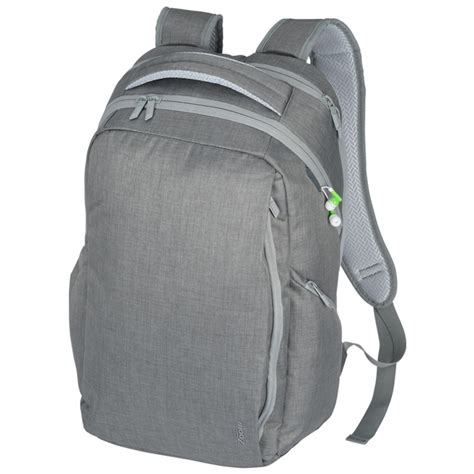 Speaker Portable Wirelles Necxo Ls 311 12 4imprint zoom grid 15 quot laptop backpack embroidered 138953 e imprinted with your logo
