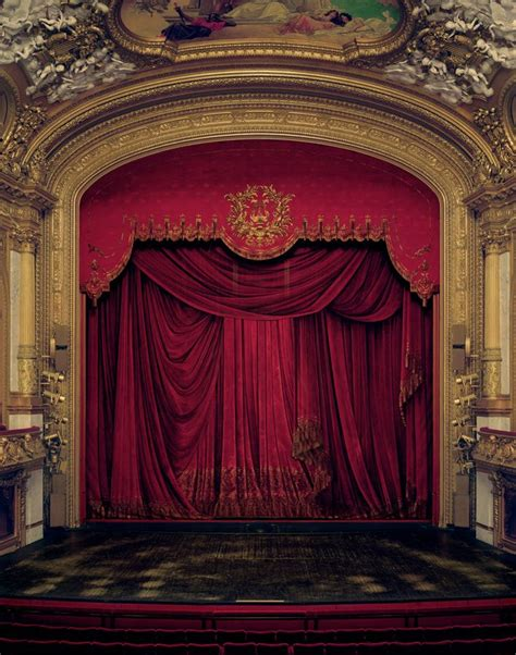 opera curtains ornate stage ballet russes pinterest opera