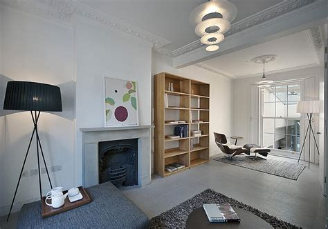 old homes with modern interiors modern extension to a victorian house in london comes with