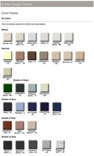 Bathroom Fiberglass Repair Color Chart