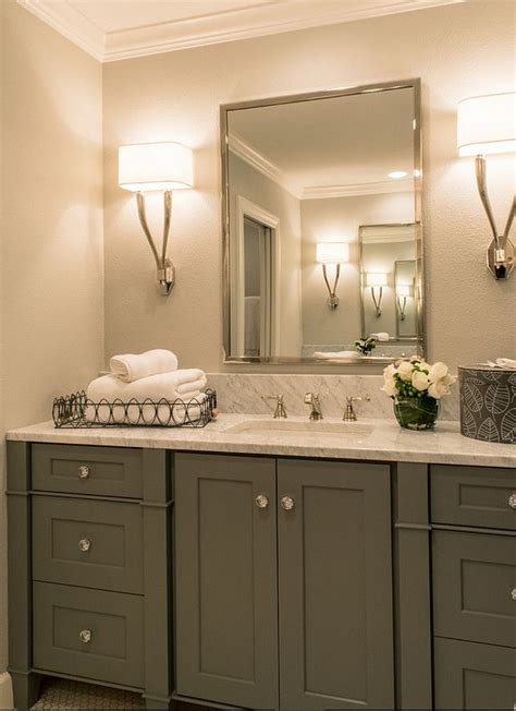 White Bathroom Cabinet Ideas by 17 Best Ideas About Grey Bathroom Cabinets On