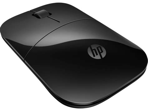 Mouse Wireless Hp hp z3700 black wireless mouse v0l79aa abl hp 174 store